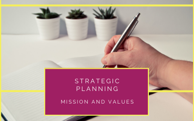 Strategic Planning – Mission and Values